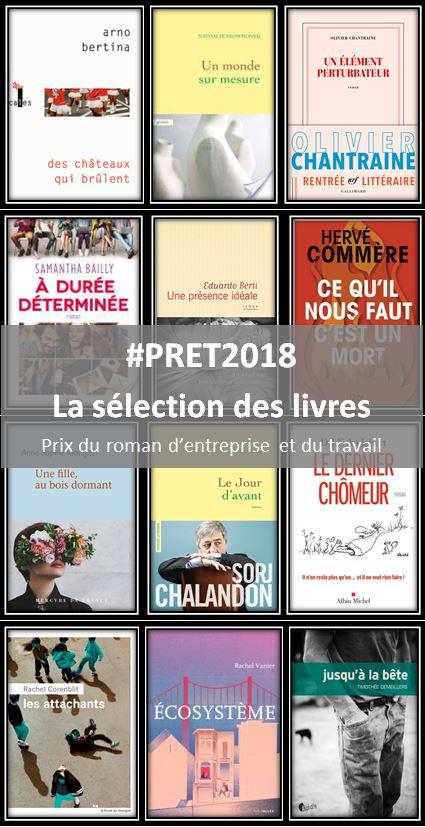 Prix du Roman d'entreprise et du travail 2018 : la sélection des livres